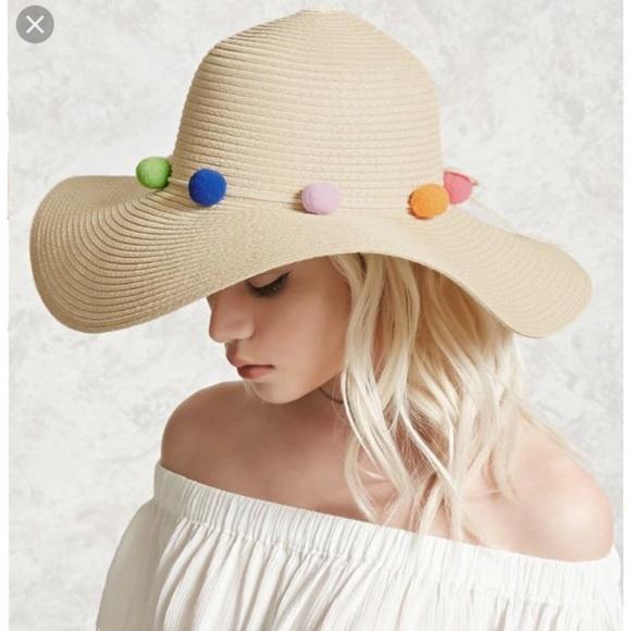 50575437 Forever 21 Pom Pom straw hat. Forever 21. M_5b41831fdf03079eed6104ca.  M_5b41831c409c1566b1c48af1. M_5b4183211b329490d69a18aa.  M_5b41831baa877028ffa0d808